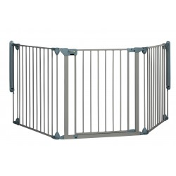 Barrera modular gate 3 paneles grey Safe