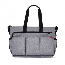 Bolso Double Heather grey de Skip Hop