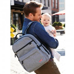 Mochila Blackpack Heather grey Skip Hop