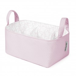 Cesta rectangular Dream rosa