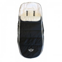 Saco mini footmuff Ed. Special Black