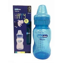Biberon BBD happy 330ml azul