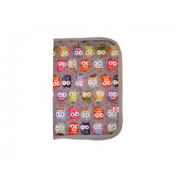 PORTADOCUMENTOS OWLS GREY
