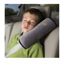 DIONO SEAT BELT PILLOW GRIS/NEGRO