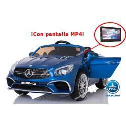 Mercedes SL65 MP4 azul 12V 2.4G