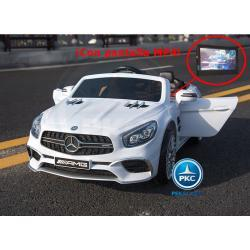 Mercedes SL65 MP4 blanco 12V 2.4G