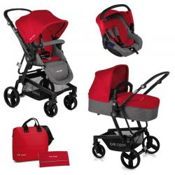 Cochecitos Quantum 3 Top Be Solid Red