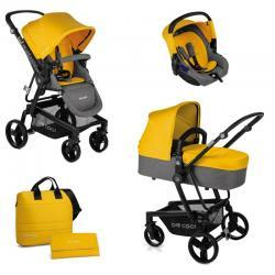 Cochecitos Quantum 3 Top Be Solid Yellow