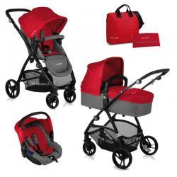 Cochecito Slide 3 Top Be Solid Red Y12