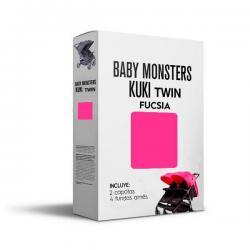 Capota Kuki Twin Fucsia Baby Monsters.