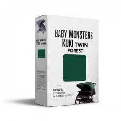 Capota Kuki Twin Forest Baby Monsters.