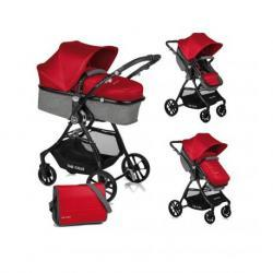 Silla Spirit convert Be solid-red