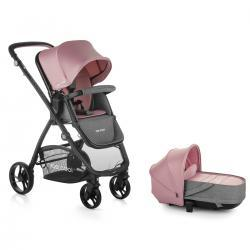 Cochecito Slide Crib Solid Pink Be Cool.