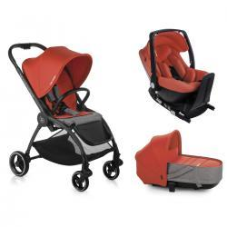 OUTBACK CRIB ONE Solid POPPY Be Cool + base Isofix