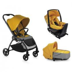 OUTBACK CRIB ONE Solid GOLD Be Cool + Base Isofix Be Cool