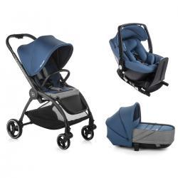OUTBACK CRIB ONE Solid INK Be Cool + Base Isofix