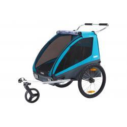 Thule Coaster2 bike trailer+stroll