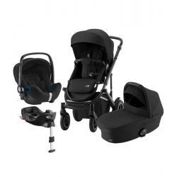 Britax Trio Comfort Plus Space Black