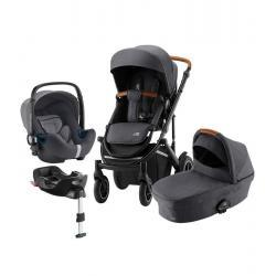 Britax Trio Comfort Plus Midnight Grey