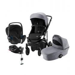 Britax Trio Comfort Plus Frost Grey