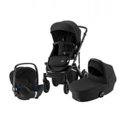 Britax Trio Comfort Space Black