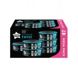 Tomme Tippee Recambio TWIST & CLICK x 6