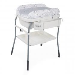 CHICCO bañera Cuddle&Bubble Cool Grey