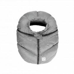 7AM Saco Car Seat Cocoon Heather Grey