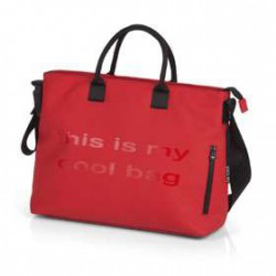 BE COOL MAMMA BAG  RED