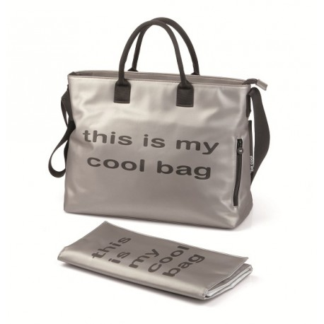 BE COOL MAMMA BAG SILVER 2014