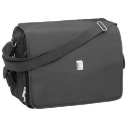 BOLSO DELUX MESSENGER BACK-BLACK